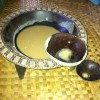 Kava bowl and drinking shell