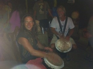 Jungle Drumming with John and Toby